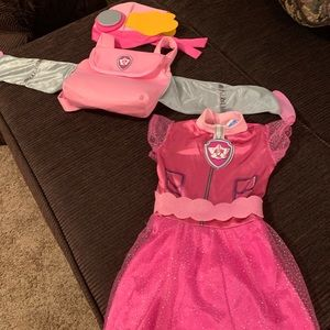 Skye from paw patrol costume size 2T/3T